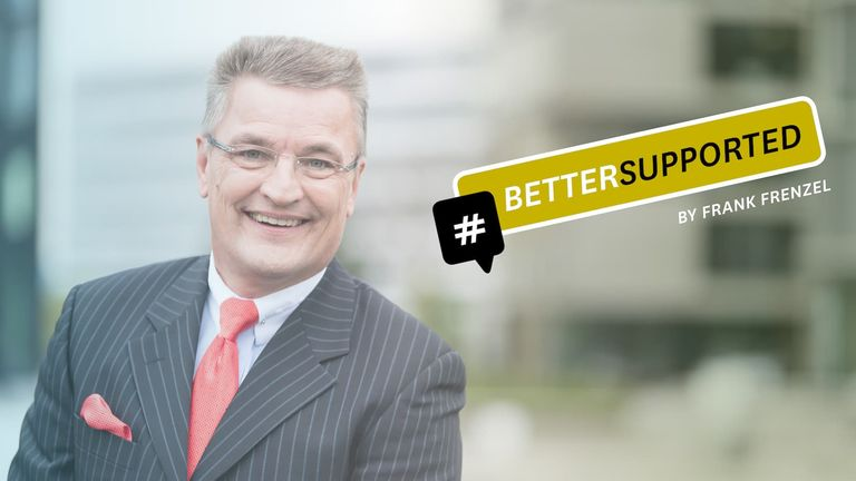 #BETTERSUPPORTED by Frank Frenzel